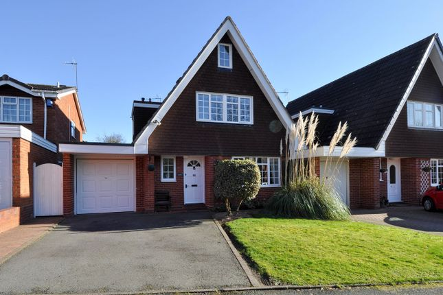 Thumbnail Link-detached house for sale in Abbotswood Close, Redditch