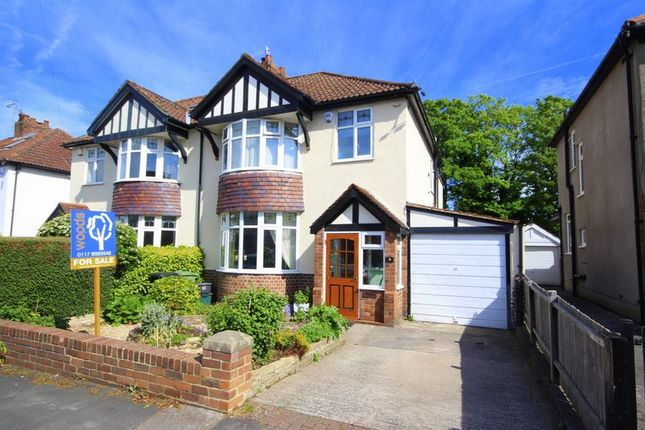 Thumbnail Semi-detached house for sale in Lampeter Road, Westbury-On-Trym, Bristol