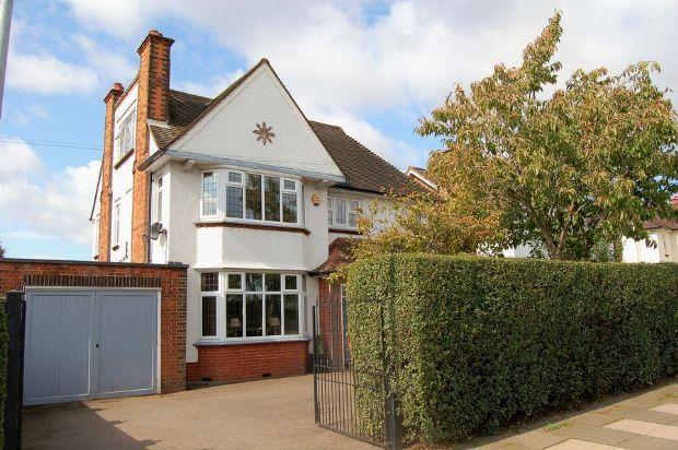 Thumbnail Detached house for sale in Park Avenue South, Abington, Northampton