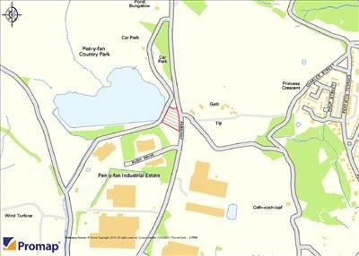 Land for sale in Land Adj Pen Y Fan Pond, Oakdale