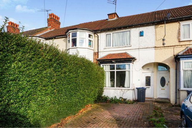 Front View of George Road, Erdington, Birmingham B23