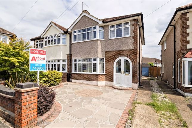 Thumbnail Semi-detached house for sale in Don Way, Rise Park, Romford