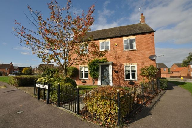 Thumbnail Detached house for sale in Colseed Road, Mawsley Village, Kettering, Northamptonshire