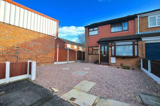 Thumbnail Semi-detached house for sale in Dover Road, Latchford