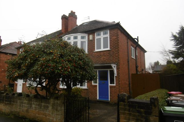 Thumbnail Semi-detached house to rent in Warwick Avenue, Beeston