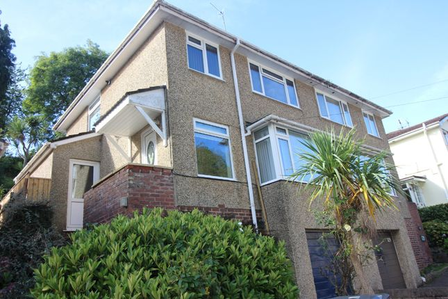 Thumbnail Semi-detached house for sale in Occombe Valley Road, Paignton