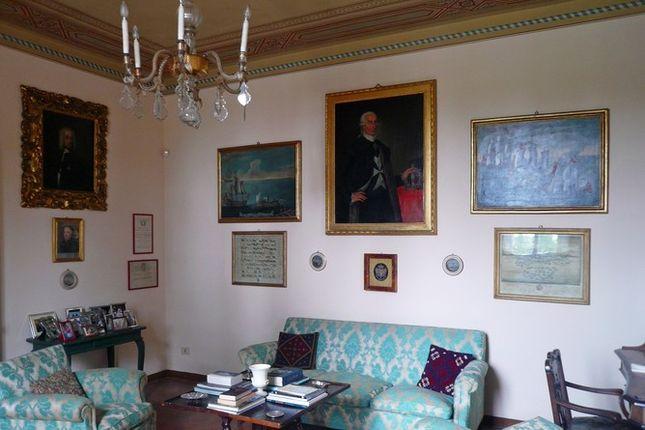 Sitting Room of Villa Fontana, Cortona, Tuscany