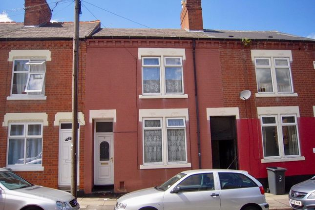 Thumbnail Terraced house to rent in Luther Street, Leicester