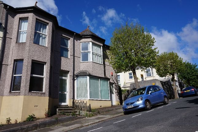 Thumbnail Town house to rent in Seymour Avenue, Greenbank, Plymouth