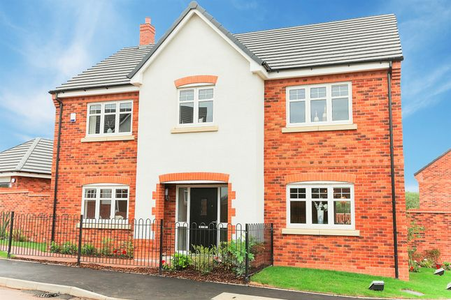 Thumbnail Detached house for sale in Gresley Way, Copcut, Droitwich