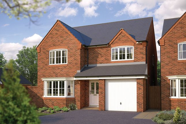 "Thumbnail Detached house for sale in ""The Durham"" at Bowbrook, Shrewsbury"