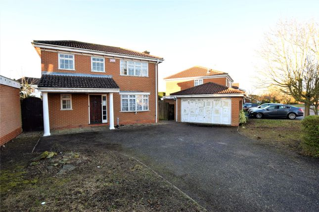 Thumbnail Detached house for sale in Rosemoor Drive, East Hunsbury