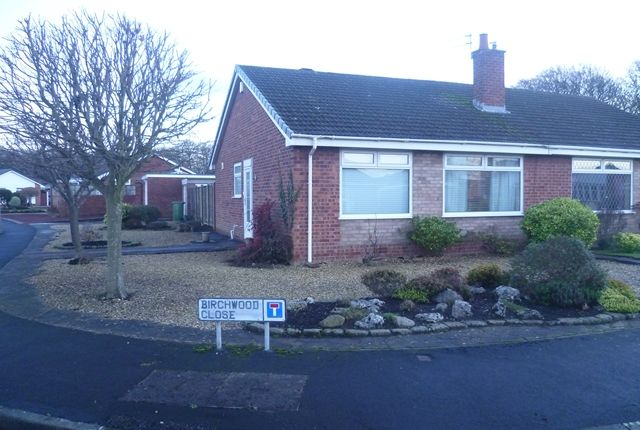 Thumbnail Bungalow to rent in Broadwood Way, Lytham St. Annes