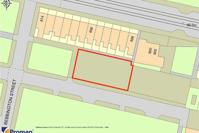 Thumbnail Land for sale in Eccleshall Street, Clayton, Manchester