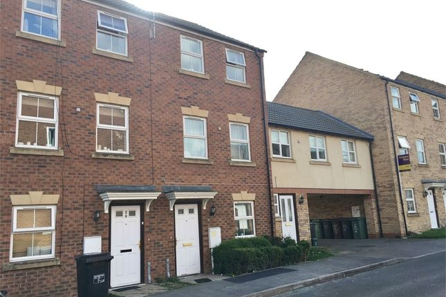 Thumbnail Town house to rent in Carlisle Close, Corby, Northamptonshire