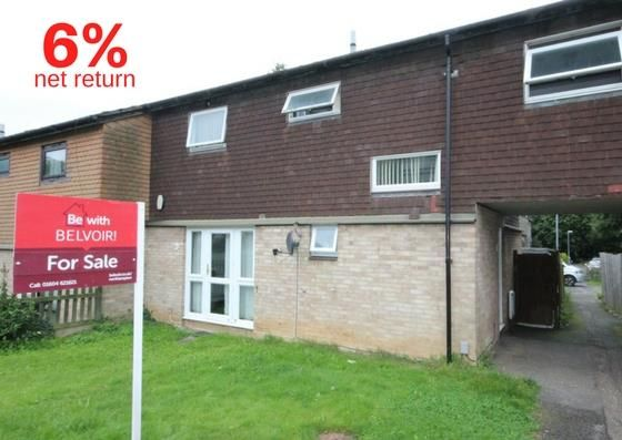 Thumbnail Terraced house for sale in Prentice Court, Goldings, Northampton