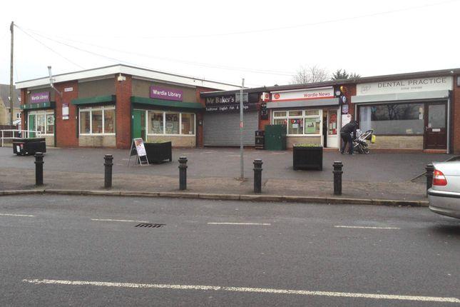 Thumbnail Retail premises for sale in Rochdale OL12, UK