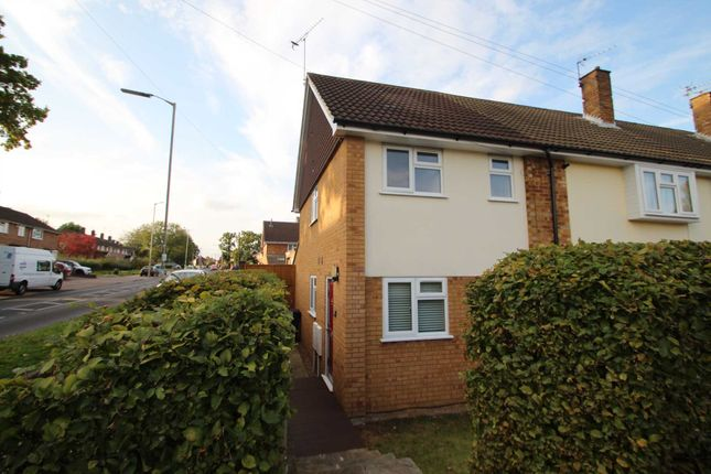 Thumbnail End terrace house to rent in Boxted Road, Hemel Hempstead