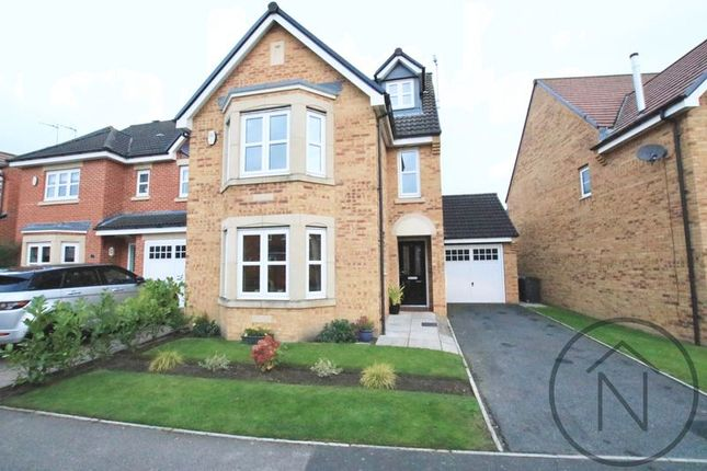 Thumbnail Detached house for sale in Wakenshaw Drive, Newton Aycliffe