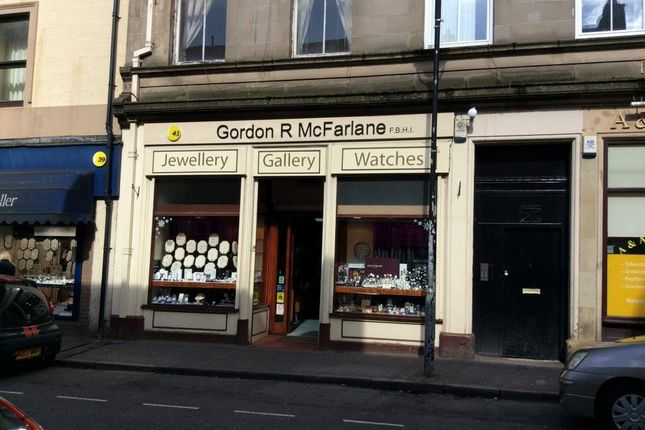 Thumbnail Retail premises for sale in Mill Street, Alloa