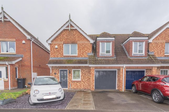 Thumbnail Semi-detached house for sale in The Chequers, Consett
