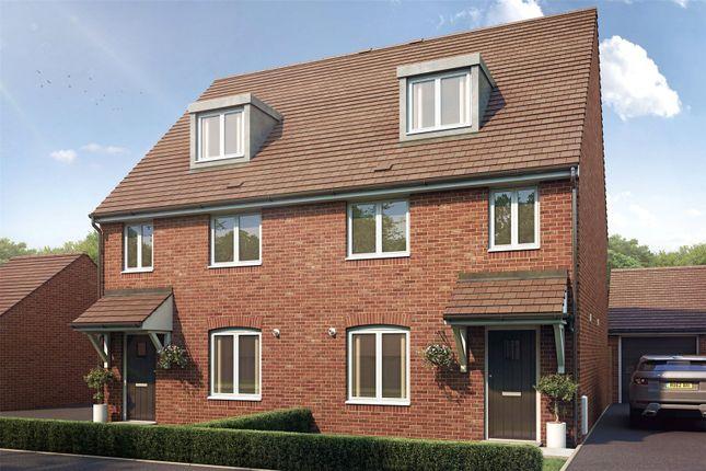 Thumbnail Semi-detached house for sale in Lucas Drive, Beldam Bridge Road, West End, Surrey