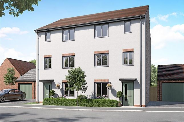 4 bed semi-detached house for sale in Aston Reach Phase 2, Weston Turville, Aylesbury HP22