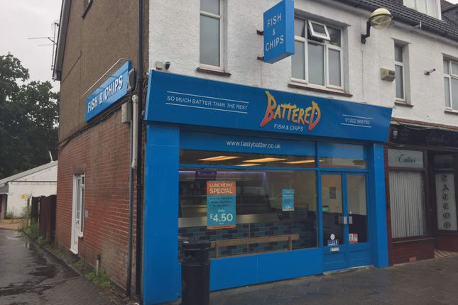 Thumbnail Restaurant/cafe to let in Fish & Chip Shop, Ferndown