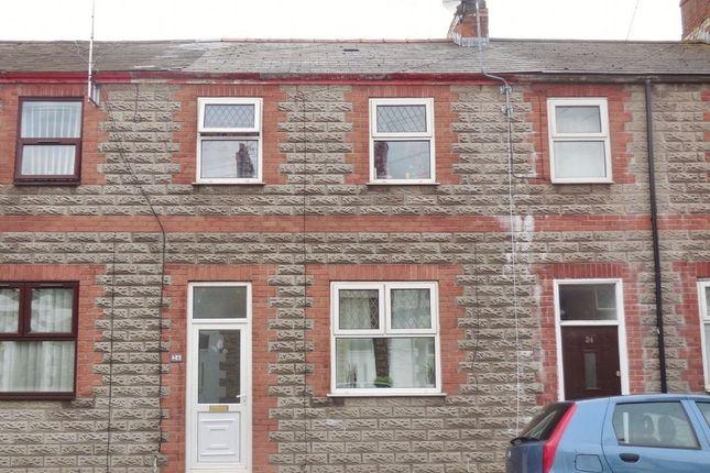 Thumbnail 3 bed terraced house for sale in Railway Street, Splott, Cardiff