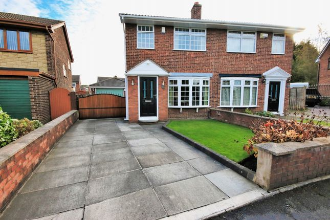 Thumbnail Semi-detached house for sale in Raithby Drive, Wigan