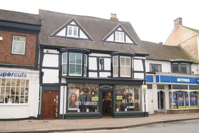 Thumbnail Retail premises for sale in Wood Street, Stratford-Upon-Avon, Warwickshire