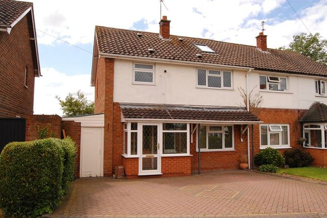 Thumbnail Semi-detached house for sale in School Close, Trysull, Wolverhampton