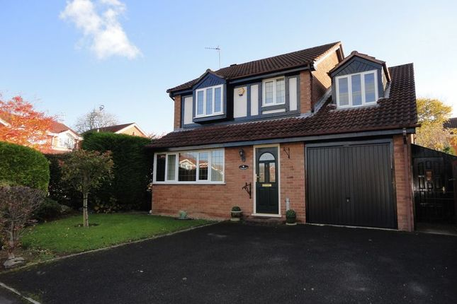 Thumbnail Detached house for sale in Tibberton Close, Shirley, Solihull