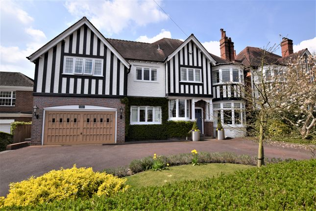 Thumbnail Detached house for sale in Knowle Wood Road, Dorridge, Solihull