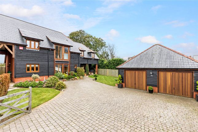 Thumbnail Detached house for sale in The Grange, Five Heads Road, Horndean, Waterlooville