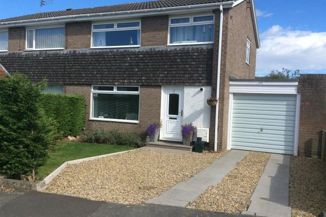 Thumbnail Semi-detached house for sale in Thorneyford Place, Ponteland, Newcastle Upon Tyne