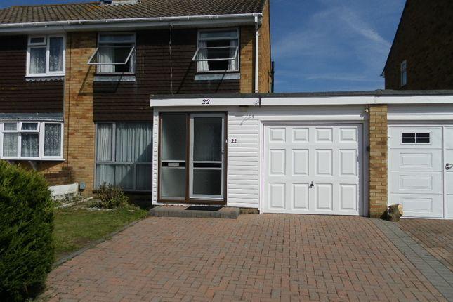 Thumbnail Semi-detached house for sale in Quintrel Avenue, Portchester
