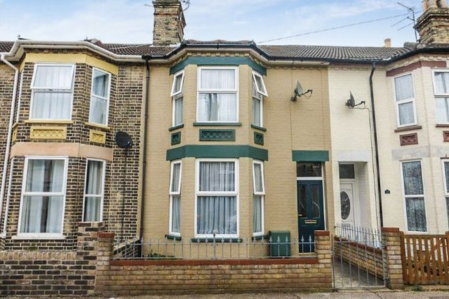 Thumbnail Terraced house for sale in Lorne Park Road, Lowestoft