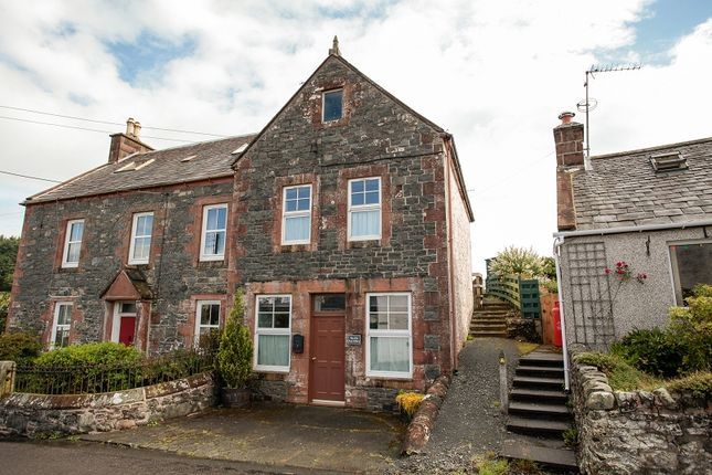 Thumbnail Semi-detached house for sale in The Old Post Office Dunscore, Dumfries, Dumfries And Galloway.