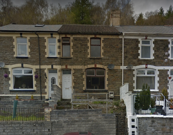 Terraced house for sale in Abeerbeeg Road, Abertillery