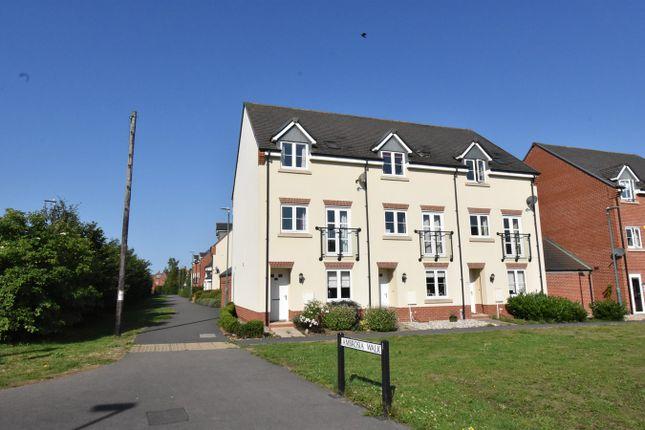 Thumbnail End terrace house for sale in Ambrosia Walk, Mitton, Tewkesbury