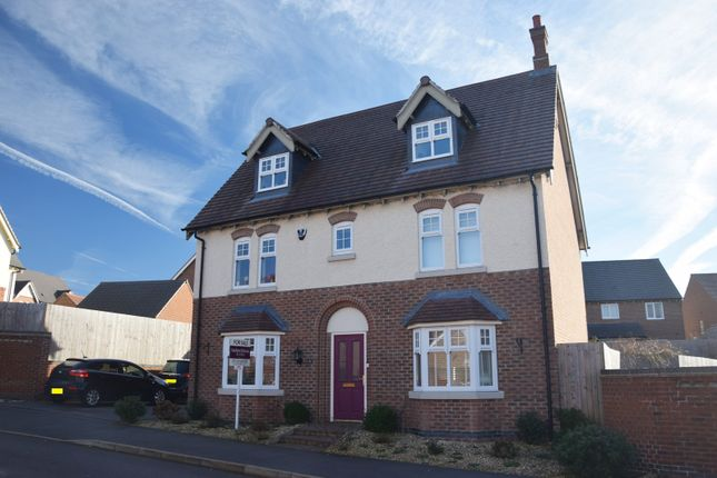 Thumbnail Detached house for sale in Henley Grove, Church Gresley