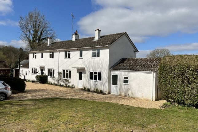 3 bed semi-detached house to rent in New Road, Rockbourne, Fordingbridge SP6