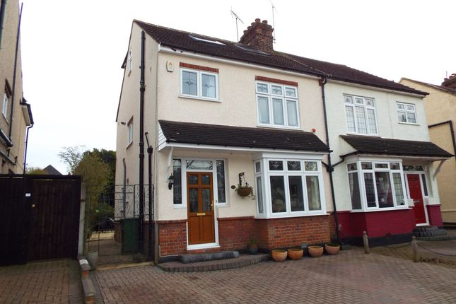 Thumbnail Semi-detached house to rent in South Drive, Warley, Brentwood