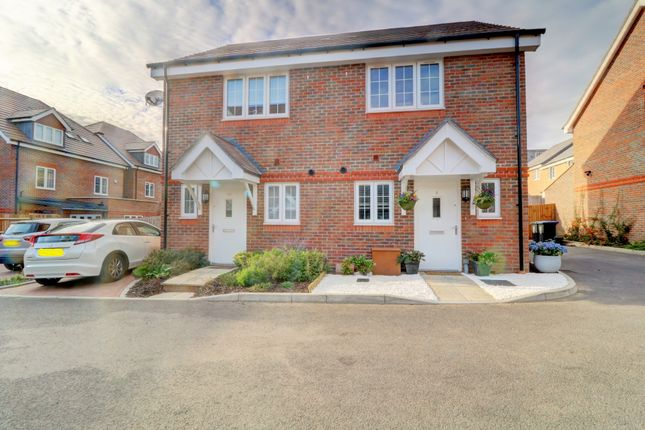 Thumbnail Semi-detached house for sale in Jersey Close, Knaphill, Woking