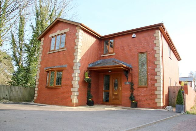 Thumbnail Detached house for sale in Station Road, Creigiau, Cardiff.