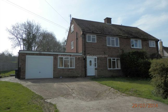 3 bed semi-detached house to rent in High Street, Abbotsley, St. Neots