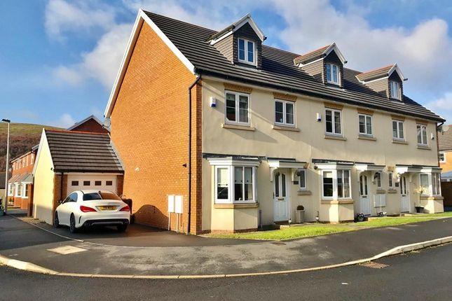 Thumbnail End terrace house for sale in Larch Lane, Tredegar, Gwent