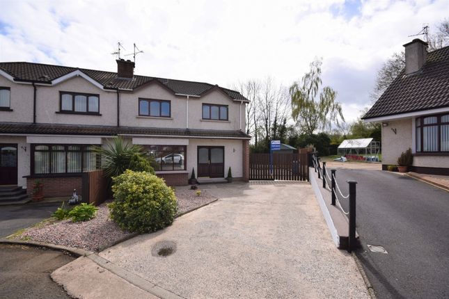 Thumbnail Semi-detached house for sale in Cluntoe View, Ardboe, Dungannon
