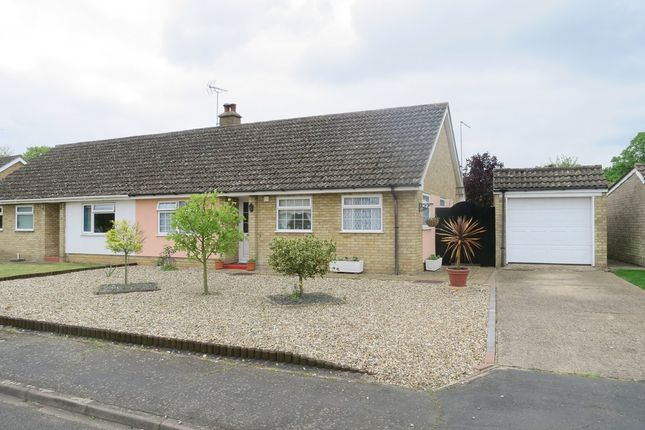 Thumbnail Semi-detached bungalow for sale in Withers Place, Fordham, Ely